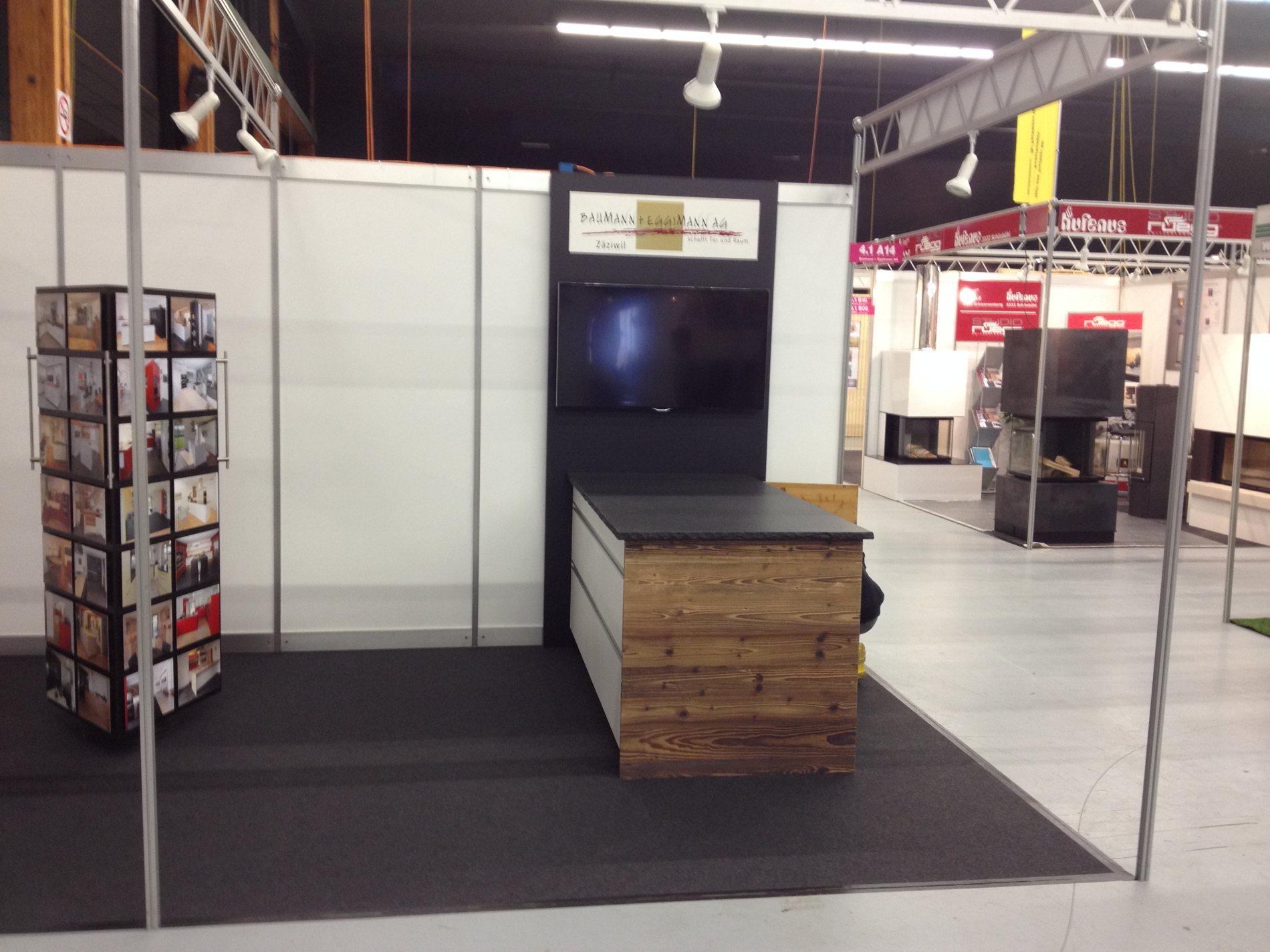 eigenheimmesse 2016 baumann eggimann ag. Black Bedroom Furniture Sets. Home Design Ideas